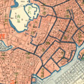 Map: Edo 190 years ago, Genbun Era (1736-1741)